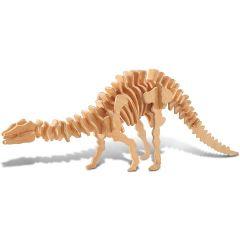 Puzzle 3D in legno - Apatosaurus