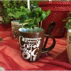Pianta Del Caffè su tazza di ceramica