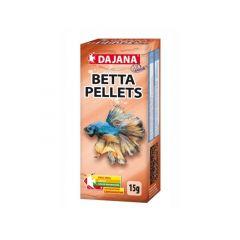 Dajana Betta Pellets 15 gr (35 ml) - Mangime completo per tutti i tipi di BETTA