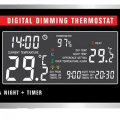 Habistat Digital Pulse Proportional Thermostat Day/night + Timer
