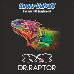 Dr.Raptor SuperCal+D3 - Integratore di Calcio+D3