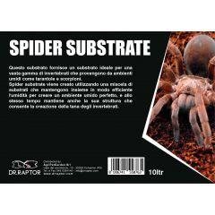 Dr.Raptor Spider Substrate 10L - Substrato per ragni e scorpioni