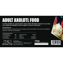 Dr.Raptor Adult Axolotl Food 150gr - Mangime per Axolotl Adulti