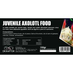 Dr.Raptor Juvenile Axolotl Food 150gr - Mangime per Axolotl Baby