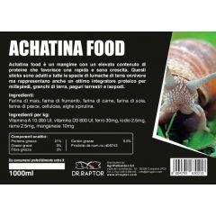 Dr.Raptor Achatina Food 1000ml - Cibo per Achatina