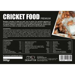 Dr.Raptor Cricket Food - Mangime per Grilli 900gr