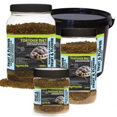 Komodo Complete Tortoise Diet Frutta e Fiori 340gr