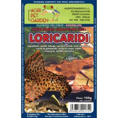 Loricaria Food Congelato In Blister 100gr. - Menù per Loricaridi