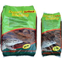 """Lucky Reptile Desert Bedding """"outback Red"""" 7 L"""