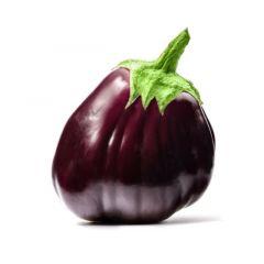 Melanzana Tonda Violetta 'Purpurea' - Vaschetta 4 piantine