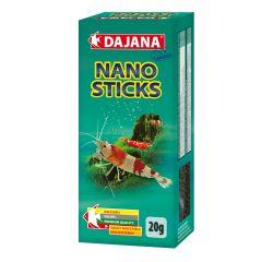 Dajana Nano Sticks 20 gr (35 ml) - Mangime per gamberetti d' acqua dolce come Caridine e Neocaridine