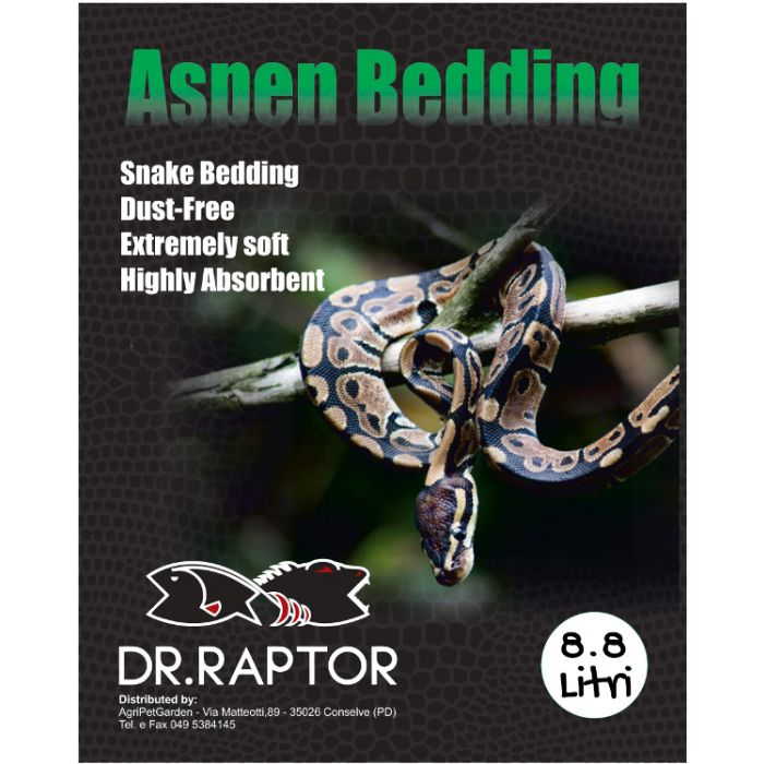 Dr.raptor Aspen Bedding 26,4lt