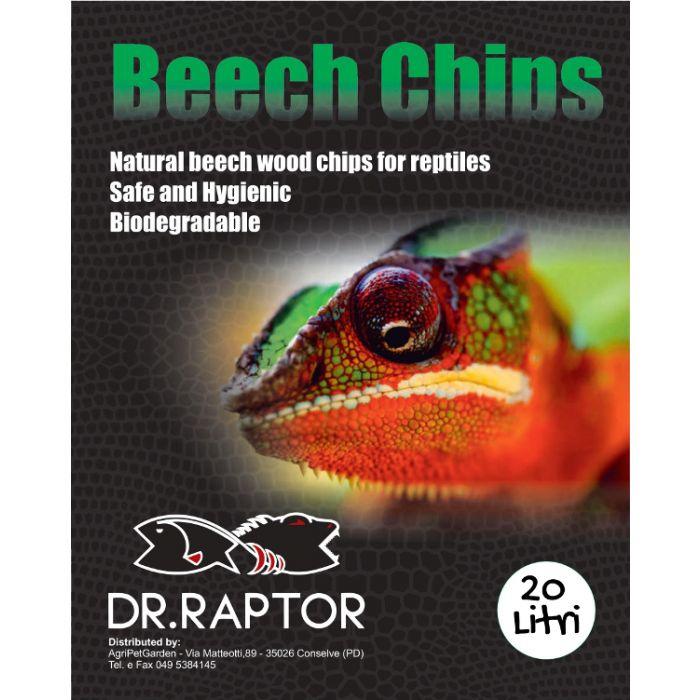 Dr.raptor Beech Chips Grosso - Faggiolino Grosso 30lt