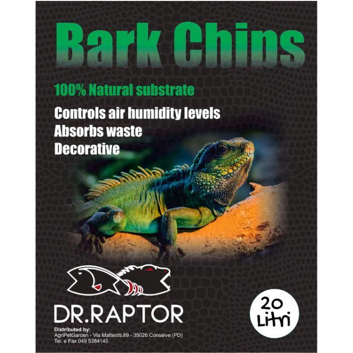 Dr.Raptor Bark Chips - Corteccia rossa di Pino