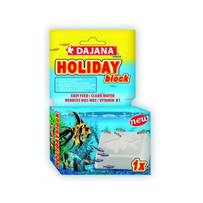 Dajana Holiday block 30 g - Mangime per le vacanze per i pesci d' acquario