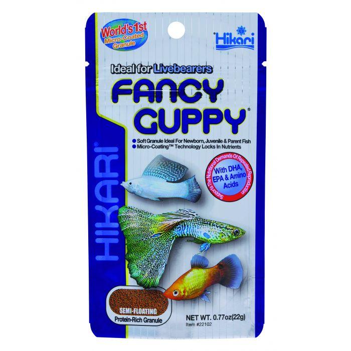 Hikari - Fancy Guppy - 22 gr - Mangime completo per GUPPY e MOLLY
