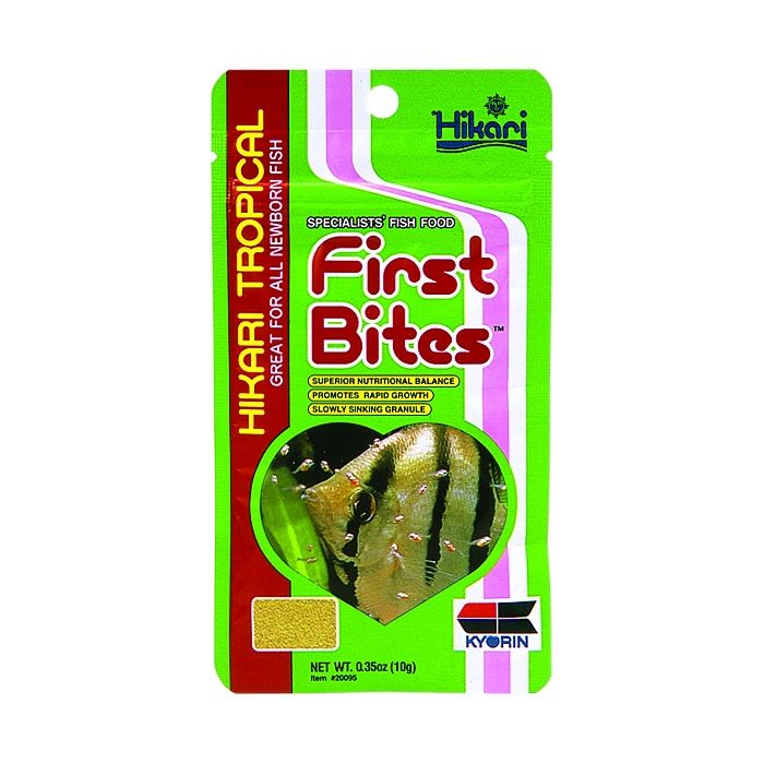 Hikari - First Bites - 10 gr - Mangime completo per avannotti