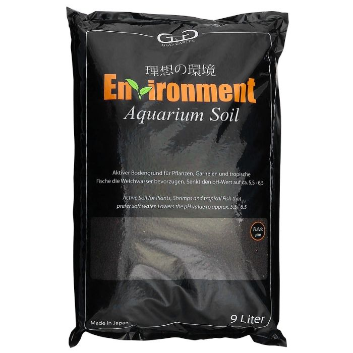 GlasGarten Environment Aquarium Soil