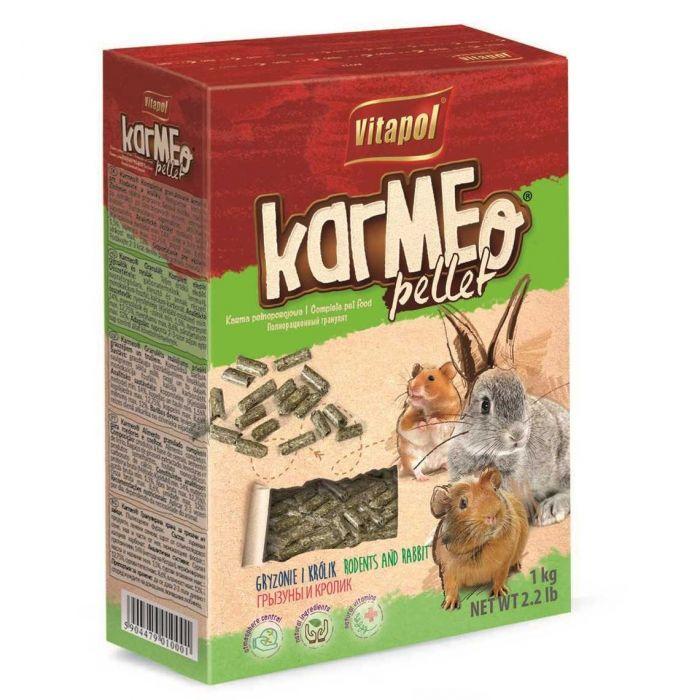 Vitapol Karmeo Mangime in Pellet completo per Roditori e conigli 1kg