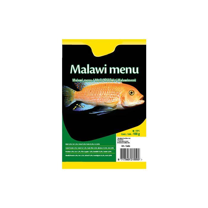 Menù per Ciclidi del Malawi Congelato in Blister 100gr