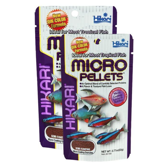 Hikari - Micro Pellets - 45 gr - Mangime completo per pesci tropicali piccoli