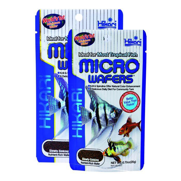 Hikari Micro Wafers 20 gr - Mangime per pesci tropicali di taglia medio-piccola