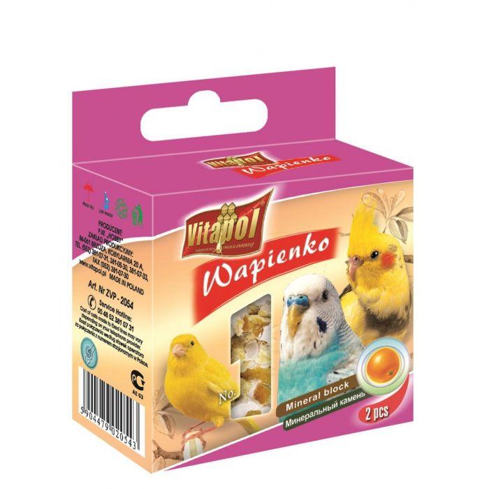 Vitapol Mineral Block per uccelli  - Arancia