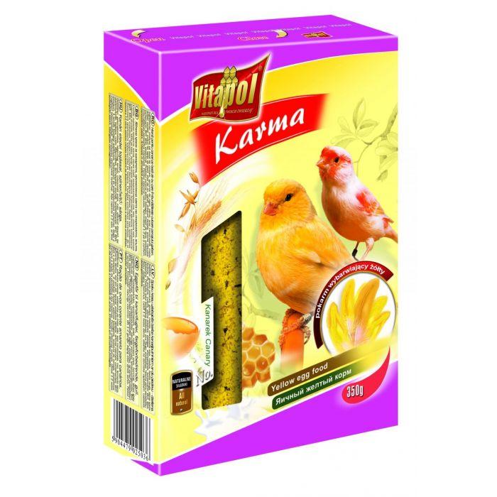 Vitapol Pastoncino all'uovo per canarini gialli 350gr.