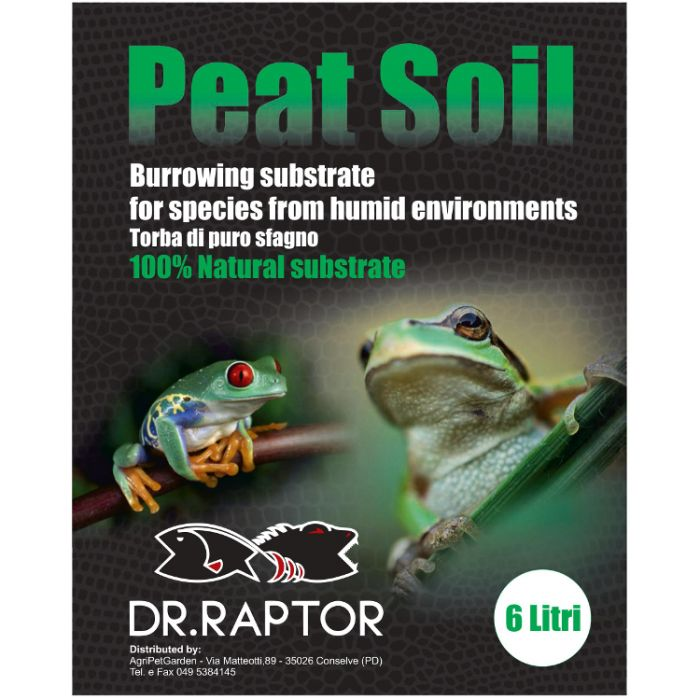 Dr.raptor Peat Soil 40 Lt. 4Kg - Torba Di Sfagno