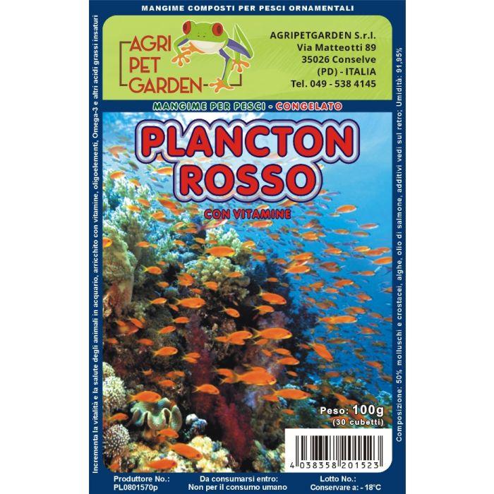 Plankton Rosso Congelato In Blister 100gr.