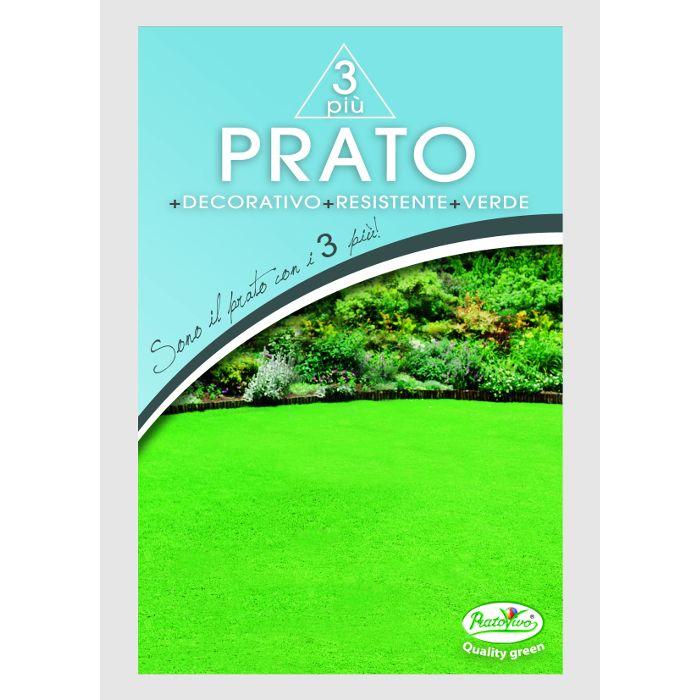 Prato 3 Più - Decorativo+Resistente+Verde