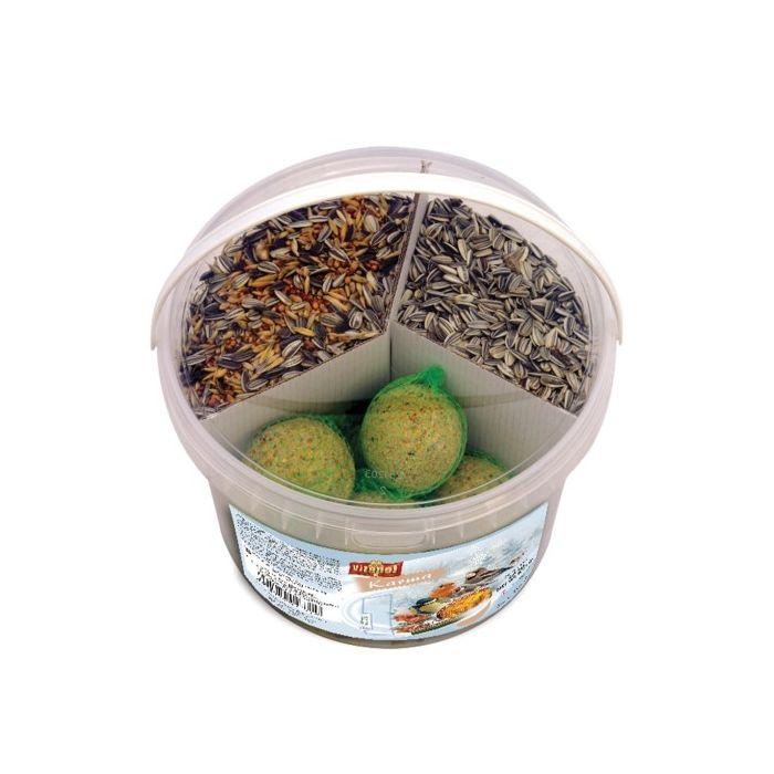 Vitapol Secchiello Mix per Uccelli selvatici Inverno 2,5Kg