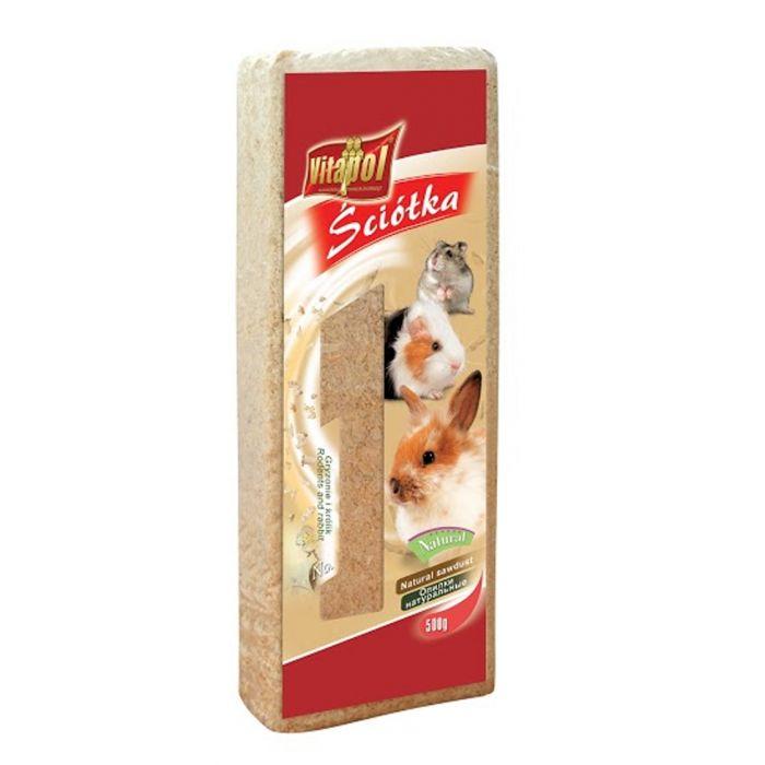 Vitapol - Lettiera di Trucioli di Legno Tenero 1,1kg 15 Litri