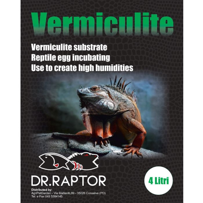 Dr.raptor Vermiculite 4lt